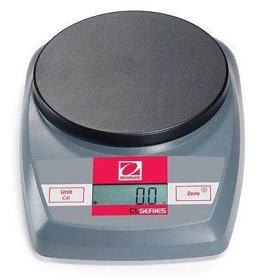 Ohaus CL5000 Cap 5,000g , Read 1g Compact Scale lightweight, portable scale