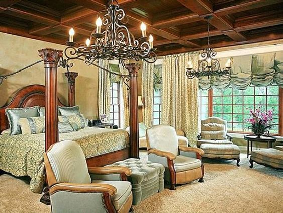 #NSync #JoeyFatone's Orlando Home: Master Bedroom>> http://www.frontdoor.com/photos/tour-joey-fatones-orlando-home-for-sale?soc=pinterest