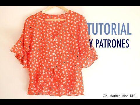 Como hacer una blusa con el bajo asimétrico: DIY