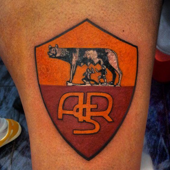 tattoo scudetto Roma