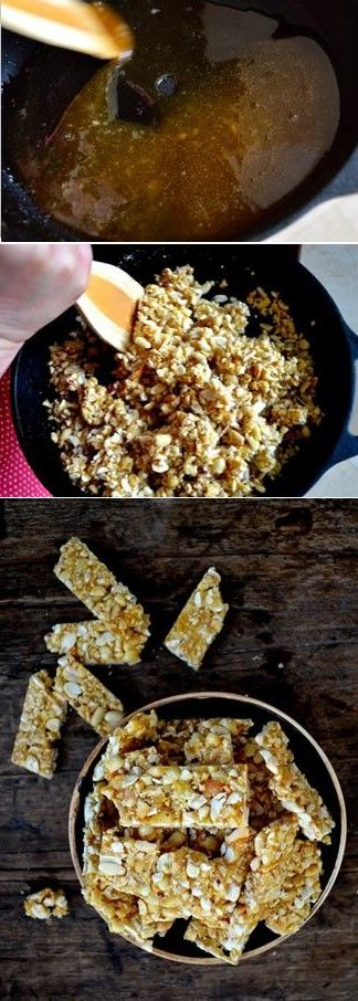 Chinese Sesame Peanut Brittle Recipe, love that sweet crunch