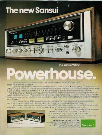 Sansui 9090 - Vintage Audio Ads -: