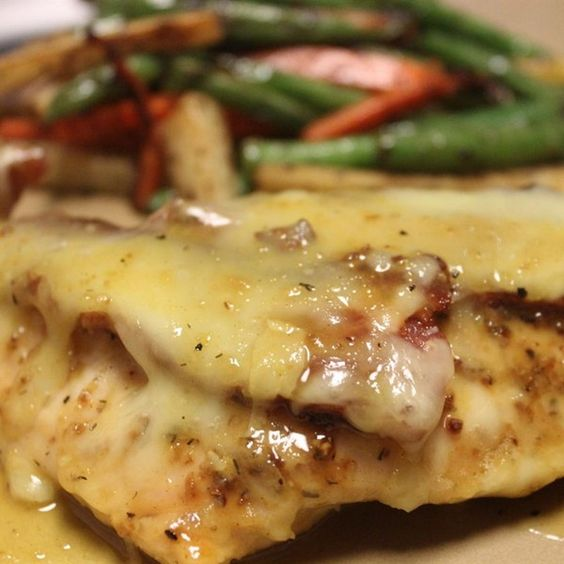 "Easy Honey Mustard Mozzarella Chicken I ""This was a quick and simple ..."