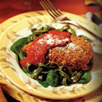 Baked Chicken Parmesan by Eating for Life - Bill Phillips
