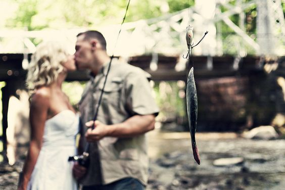 a love that likes to fish :)
