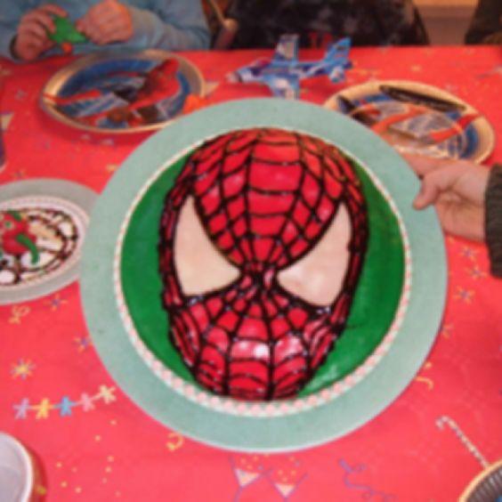 Spiderman-Kuchen
