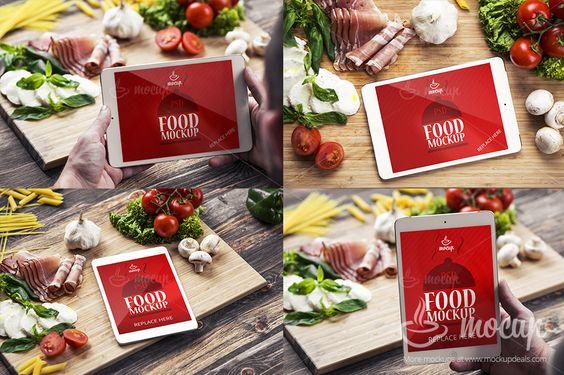 12 PSD Mockups Food by Mocup, mockupdeals.com on Creative Market