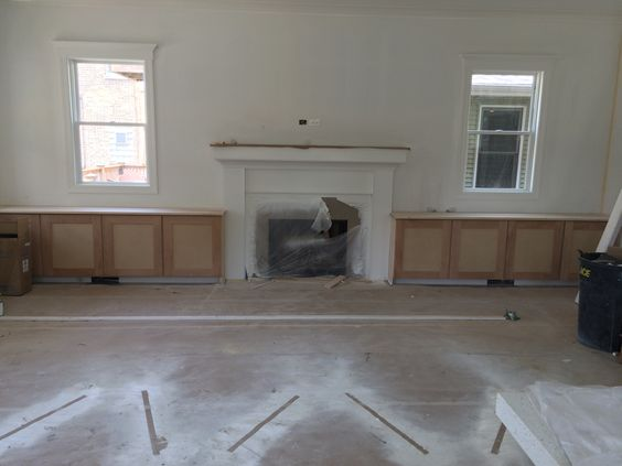 5.21 cabinets in great room...looking good