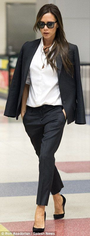 Victoria Beckham jets to New York for UNGA, might miss store opening #dailymail