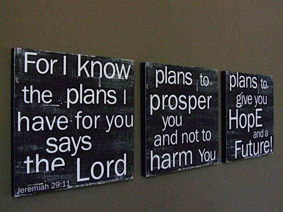Jeremiah 29 11 Wall Art one of my favorite verses | quotes and sayings | pinterest | my
