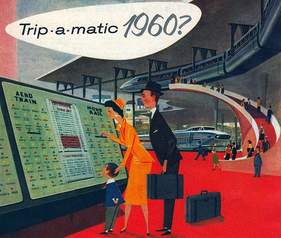 Retro-future Family Vacation: