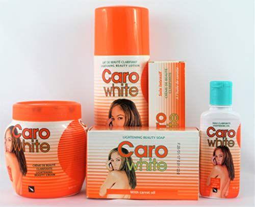 Caro White Super Lightening Beauty Bundle 5 Items Set Jabones