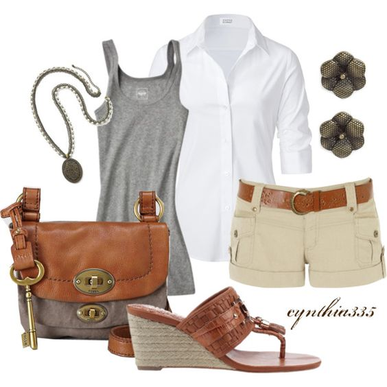 """""""Neutrals"""" by cynthia335 on Polyvore"""