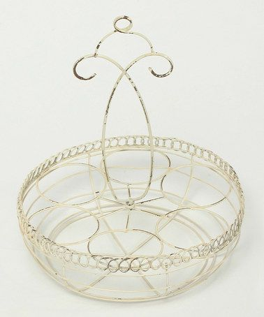 Look what I found on #zulily! Cottage Chic Weathered Six-Egg Holder #zulilyfinds