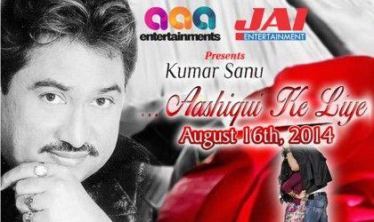 Kumar Sanu – Aashiqui ke liye At: San Jose State University  290 S 7th St  San Jose, CA 95192 Date:16 Aug, 2014 Start Time : 07:00 PM More Details: http://goo.gl/zqh1rz #KumarSanu #CAEvents