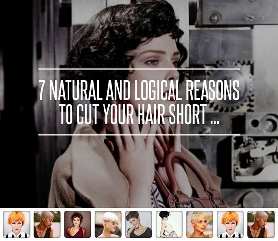 """Short hair is becoming more popular but most women still get odd looks and people saying """"I wish I was brave enough to cut my hair short"""" well here are 7 reasons to do it. They left a major one out though..... there are some really amazingly cute short cuts. Every woman should at least try it!!"""