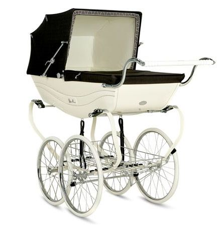 Vintage Pram — Silver Cross Balmoral and Kensington Heritage Prams | Lovely Room