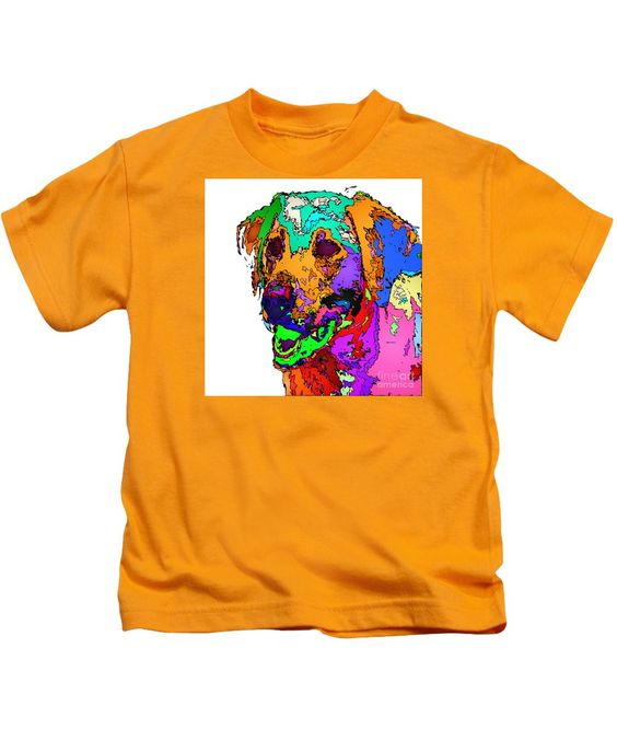 Kids T-Shirt - Want To Go For A Walk. Pet Series