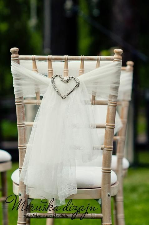 sashes bow for wedding chair with <3