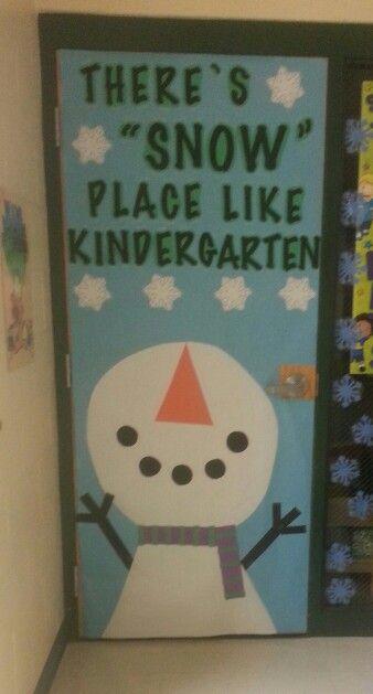 Classroom Decorating Ideas For January : January door decor idea bulletin boards pinterest