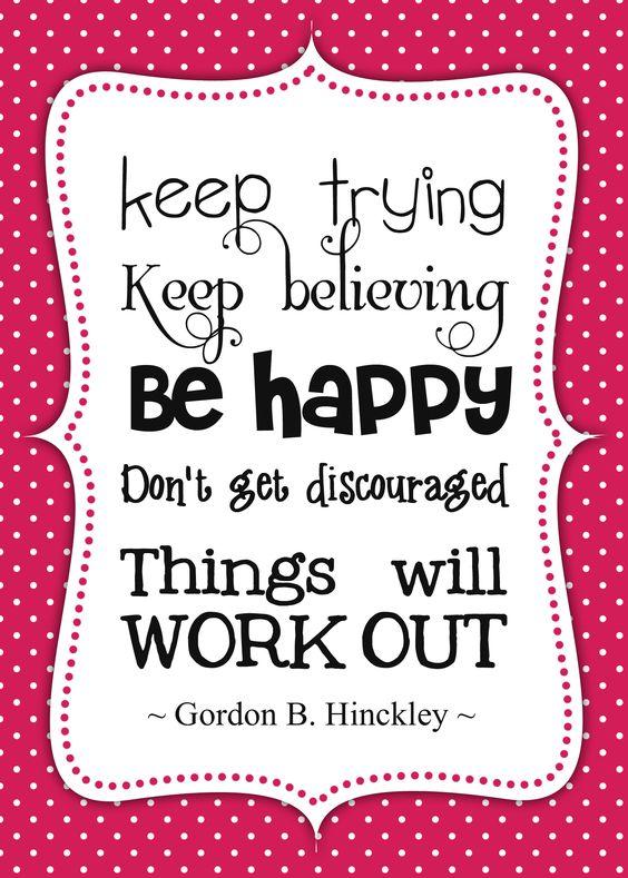 be happy printable