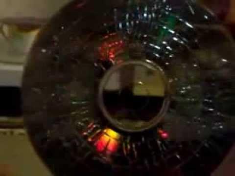 Como craquelar CD y DVD.