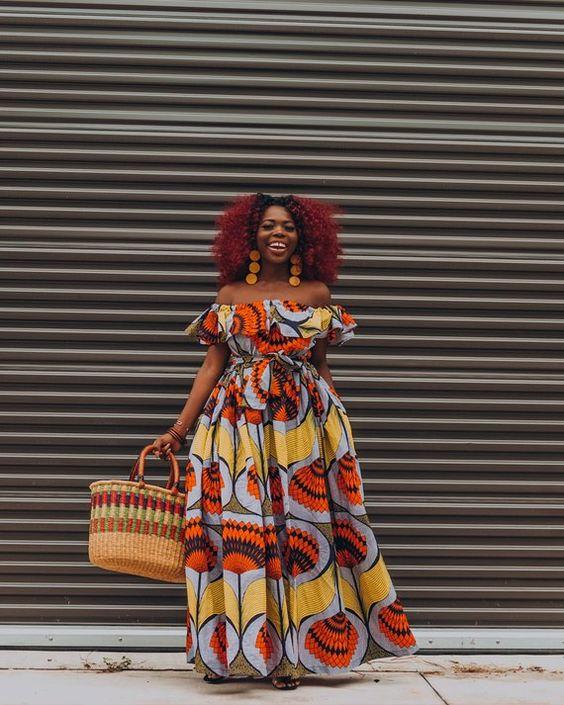 Ankara Dress African Clothing African Dress African Print | Etsy