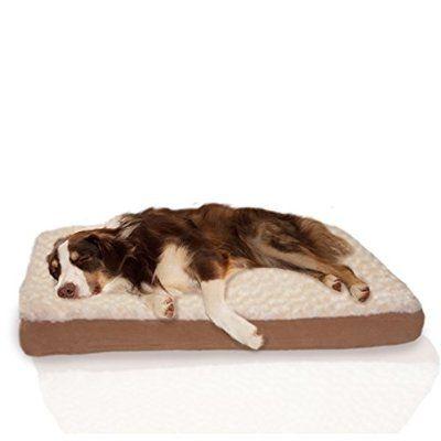 Furhaven Pet Orthopedic Pet Mattress, Large, Chocolate