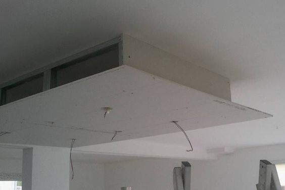 Rail placo plafond chassis suspendu montant r45 m45 for Double faux plafond
