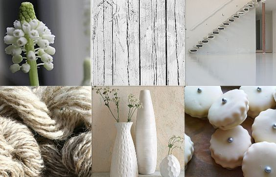 Moodboard warm white