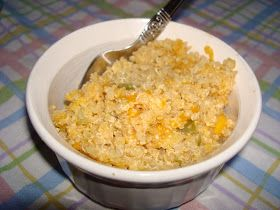 Since my sister is a vegetarian I have been trying to make more healthy vegetarian food for her. This Quinoa Mac & Cheese is a good recipe f...