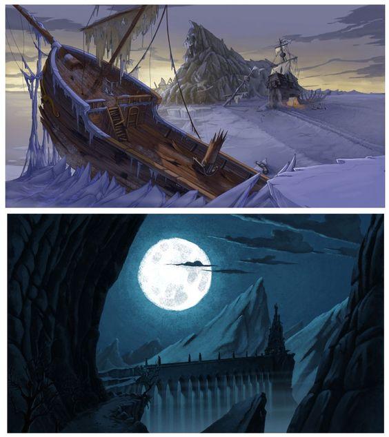Artes da série italiana The Extraordinary Adventures of Jules Verne | THECAB - The Concept Art Blog