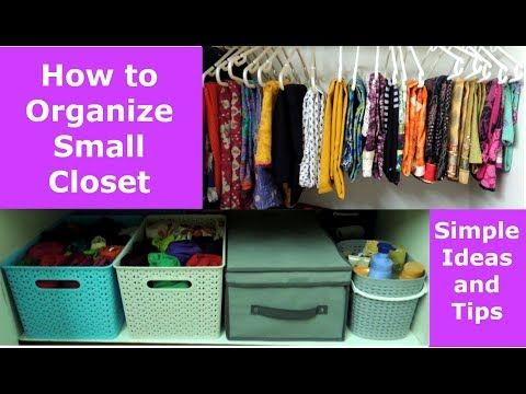 Youtube Clothes Organization Home Organization Hacks How To