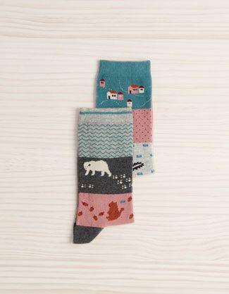 Pack Socken mit Motiven - Socken - Accessoires - Deutschland