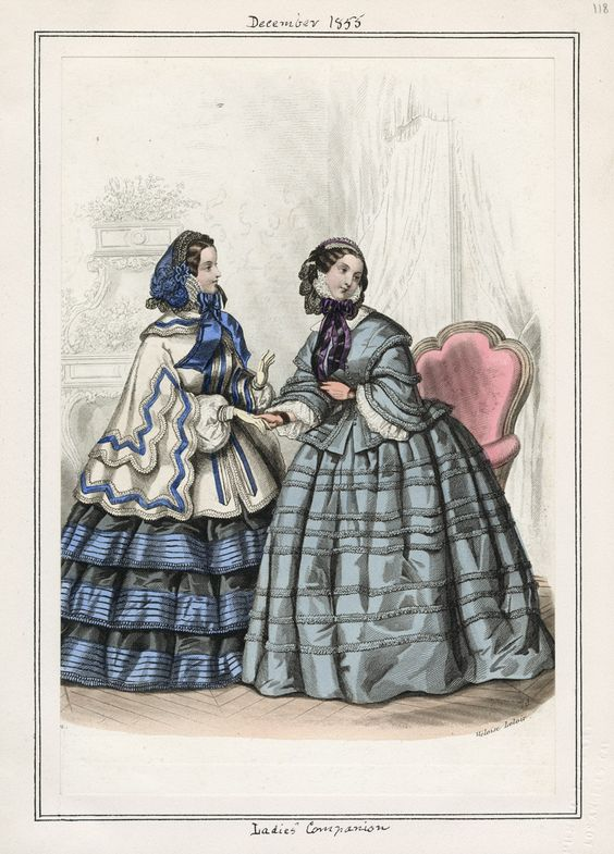 Ladies' Companion December 1855 LAPL