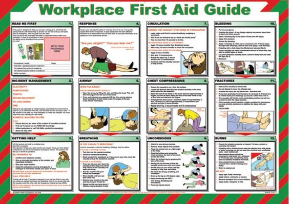 Rare image inside printable first aid guides