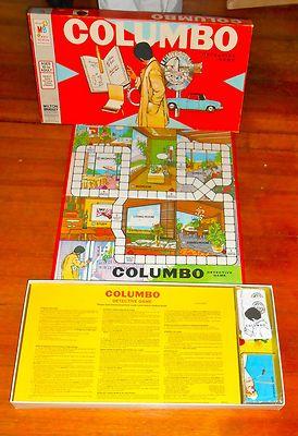 COLUMBO DETECTIVE  GAME!