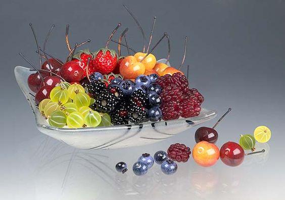 elizaberh johnson : flameworked fruit: