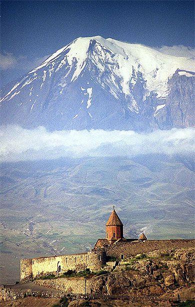 Monastery Khor Virap  Mt. Ararat Armenia