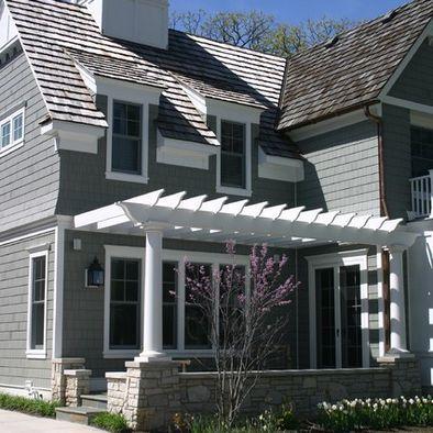 Pergola and shed dormers home building ideas building for Eyebrow pergola plans