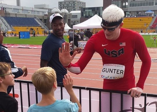 Tyson Gunter – Als blinder Läufer bei Olympia 2016
