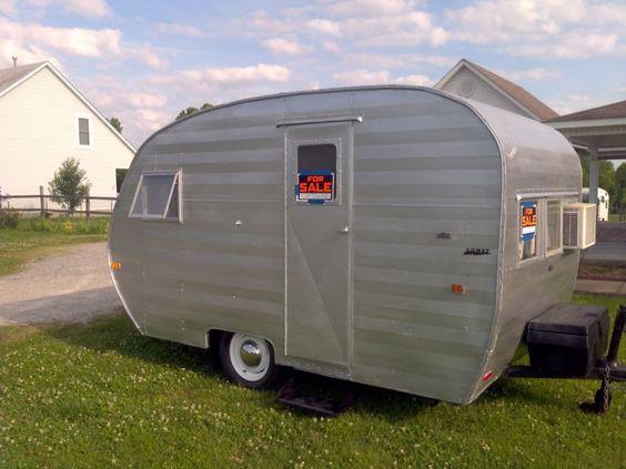 RARE 1950 COMET Vintage Camper In RVs Campers