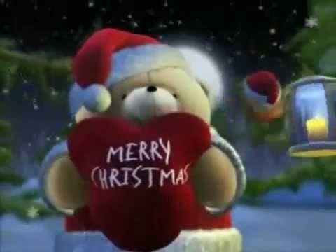 Wish You A Merry Christmas Cute Bear Youtube Hello Kitty Christmas Friend Christmas Merry Christmas Friends
