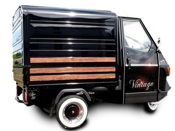 piaggio ape 50 vintage kastenversion by casa moto ape 50 pinterest vintage 50s. Black Bedroom Furniture Sets. Home Design Ideas