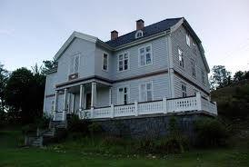 The Munthe-house in Kroken
