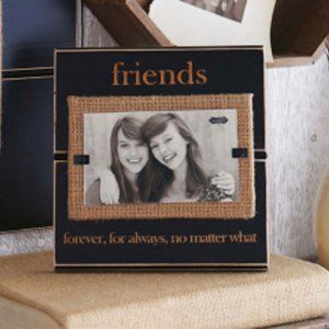 Friends frame would be a great decoration in a dorm or apartment