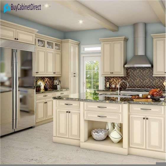 8 Beautiful Wall Paint Color For Cream Kitchen Cabinets Photos Cream Colored Kitchen Cabinets Cream Kitchen Cabinets Kitchen Cabinet Colors