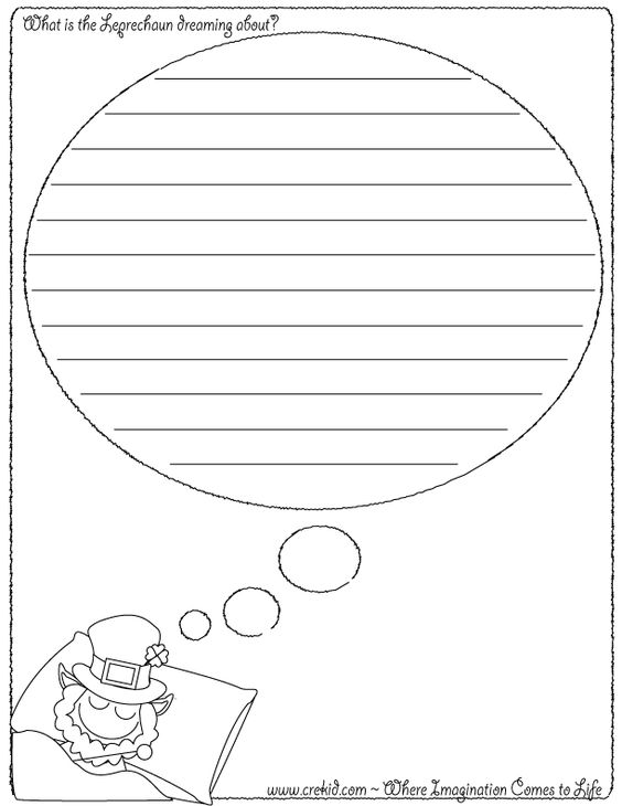 leprechaun writing prompts These creative writing prompts are a fun st patrick's day activity each worksheet provides a different inspiration to help spark a child's creative writing print.
