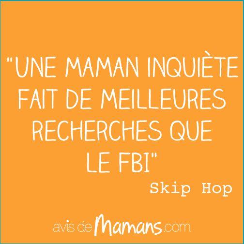 Une maman inquiète fait de meilleures recherches que le FBI. Skip Hop