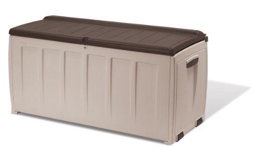 Waterproof Garden Seat Storage Box Container Outdoor Garden